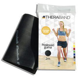 Thera-Band Posilovací guma 2 m, černá, speciálně silná