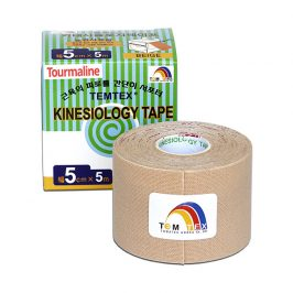 TEMTEX Tejp. TEMTEX kinesio tape 5 cm x 5 m Béžová