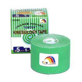 TEMTEX Tejp. TEMTEX kinesio tape 5 cm x 5 m Zelená