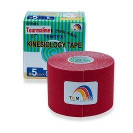 TEMTEX Tejp. TEMTEX kinesio tape 5 cm x 5 m Červená