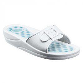 Scholl Zdravotní obuv FITNESS PEBBLE PVC - bílá vel. 38