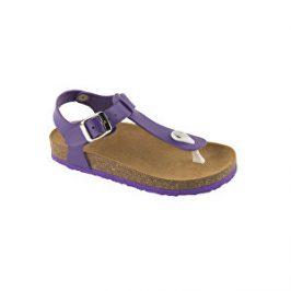 Scholl Zdravotní obuv BOA VISTA B/S KID SynLea-J - fialová 28