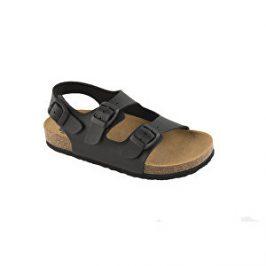 Scholl Zdravotní obuv AIR BAG B/S KID SynNub-J - černá 33