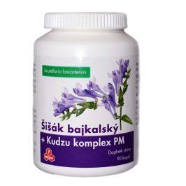 Purus Meda Šišák bajkalský + Kudzu komplex PM 90 kapslí