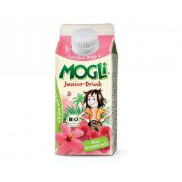 MOGLI Bio nápoj junior z ibiškového čaje a ovocných šťáv bez cukru 330ml