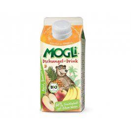MOGLI Bio nápoj jungle ze šťáv tropického ovoce bez cukru 330ml
