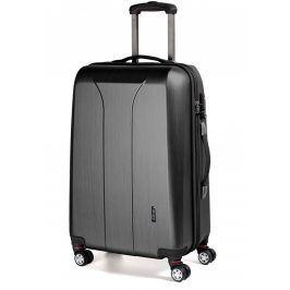 March Cestovní kufr New Carat 105 l - černá