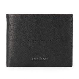 Strellson Pánská kožená peněženka Coleman 2.0 4010002555 - černá