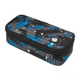 Bagmaster Školní/studentský penál BAG 9 D BLUE/GRAY/BLACK