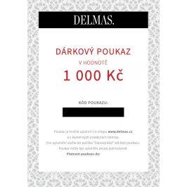 Delmas dárkový poukaz 1 000 Kč