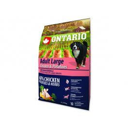 ONTARIO Dog Adult Large Chicken & Potatoes & Herbs 2,25kg