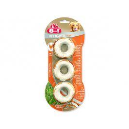 Kroužky 8in1 Delights žvýkací 3ks