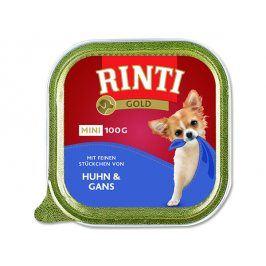 Vanička RINTI Gold Mini kuře + husa 100g
