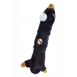 Hračka pes Medvěd s plast. lahví 55cm Skinneeez