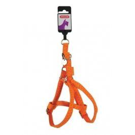Postroj pes MAC LEATHER oranžová 15mm Zolux