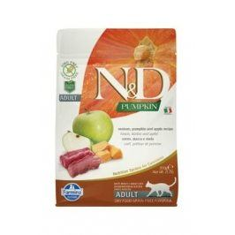 N&D GF Pumpkin CAT Venison & Apple 300g