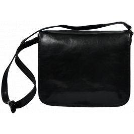 Kožená taška Gaspare Nero