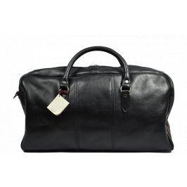 Černá kožená taška Brunilde Nera