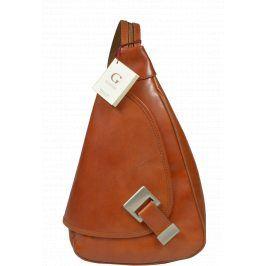 Kožený batůžek Appia Camel