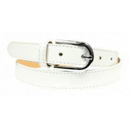 Kožený pásek Cintura Bianca Secondo Velikost pásku: 90 cm