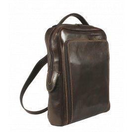 Pánská kožený batoh Velio Cafe