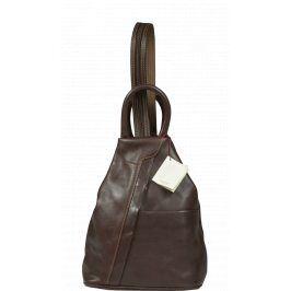 Kožený batůžek Mea Cafe
