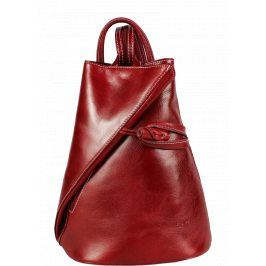 Kožený batoh Nilde Rossa