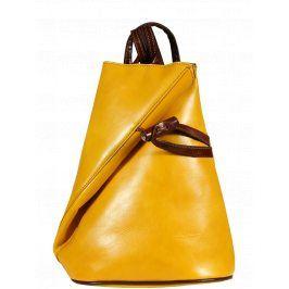 Žlutý batoh Nilde Gialla Marrone