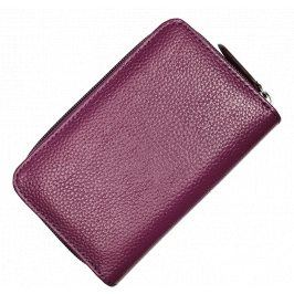 Kožená peněženka WB009 Purple