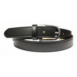 Černý kožený pásek Cintura Nera Secondo Velikost pásku: 80 cm