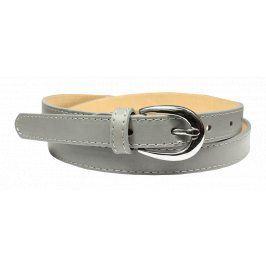 Šedý kožený pásek Cintura Grigio Prima Velikost pásku: 95 cm