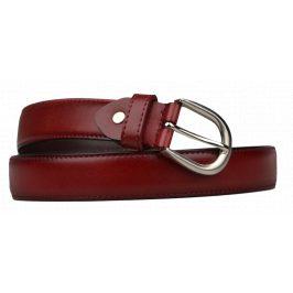 Cintura Sottile (2,9 cm) Barva pásku: červená tmavá