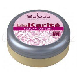BIO Karité růžový balzám 250ml Saloos