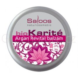 BIO Karité balzám Argan revital 19ml (do kapsy) Saloos