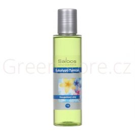 Koupelový olej Eukalypt - Tymián 250ml Saloos
