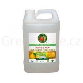Čistič podlahy koncentrát Citron a šalvěj 3,78l
