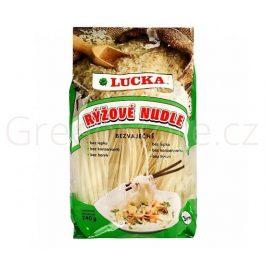 Těstoviny nudle rýžové bez lepku 240g LUCKA