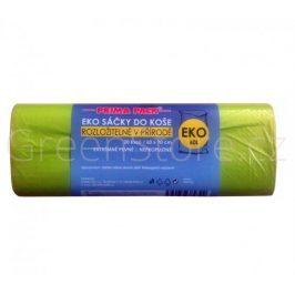 EKO sáčky na odpadky 60l - 20 kusů