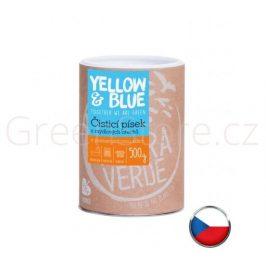 Čístící písek 0,5kg Yellow & Blue