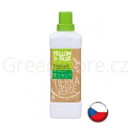 Prací gel z mýdlových ořechů 1l Yellow & Blue
