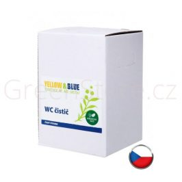 WC čistič s borovicovou silicí 5l Yellow & Blue