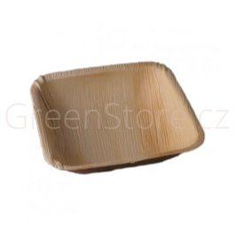 Palmová čtvercová mísa 20x20x4,5cm Areca (10ks)