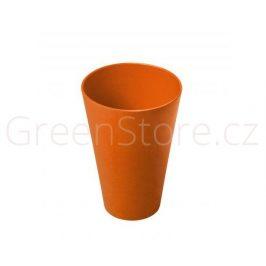 Kelímek oranžový Living Eco Dining - 350ml
