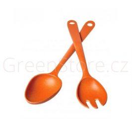 Salátová sada oranžová Living Eco Dining