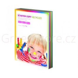 Master copy ECO Recycled A4, 100 listů, mix barev