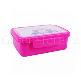Svačinový box Zdravá sváča - růžový R&B Mědílek