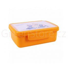 Svačinový box Zdravá sváča - oranžový R&B Mědílek