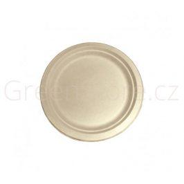Kulatý talíř Natural 18cm z cukrové třtiny (50ks)