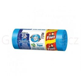 Fino Pytle na papír z recyklovaného plastu 35l (20ks)