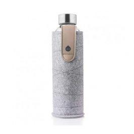 Equa Skleněná láhev Mismatch Sand Sky 750ml + plstěný obal